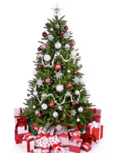 Billigt kunstigt juletræ