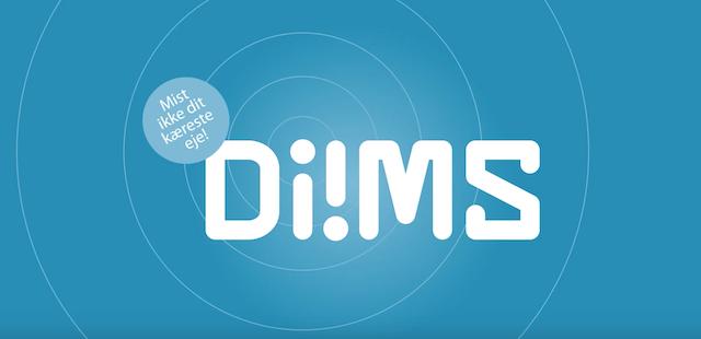 diims - track din cykel og andre ejendele